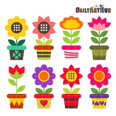 Free Clip Art Flowers in Vase | Use these free images for your ...