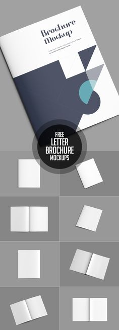 Free Letter Brochure Mockup PSD #freepsdfiles #freepsdmockups #freebies #psdmockups