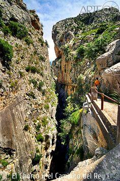 El Chorro y el Caminito del Rey I. http://arteole.com/blog/el-chorro-y-el-caminito-del-rey-i/