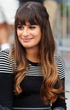 Serious Hair Envy Alert: Check Out Lea Michele's 3 Perfect On-Set Hairstyles: Girls in the Beauty Department