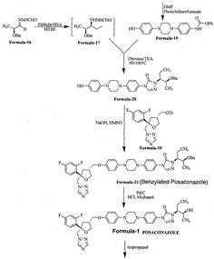Synthesis and Characterization of Deshydroxy Posaconazole