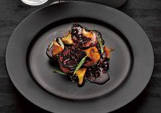 Rådjur med rödbetor, svarta vinbär och kantareller - Powered by @ultimaterecipe
