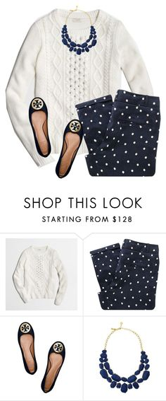 """Navy"" by sc-prep-girl on Polyvore featuring J.Crew, Sessùn, Tory Burch and Kate Spade"
