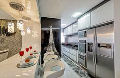 Cozinha corredor – veja lindos modelos para apartamentos + dicas de decoração! - Decor Salteado - Blog de Decoração e Arquitetura