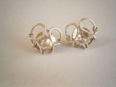 swarovski rivoli stud earring