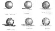 Shading is the part that makes a drawing go from a flat contour drawing to a 3 dimensional illusion. There are many options for shading and each option will change the style of  your drawing. Here are some of the basic ones, you can try them on a simple sphere design as a fun exercise. …