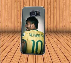 Neymar Jr for Samsung Galaxy S6 Hard Case Back Cover Laser Technology #designyourcasebyme