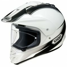 Shoei Hornet DS Sonora on and off-road helmet - Black/White TC6