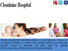 Which is the best fertility center? Cloud Nine is also one of the best fertility center in India. It provides the best care to infertility patients.