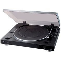 Discover the USB Turntable from Sony & explore all the Audio Components features. Best Record Player, Vinyl Record Player, Record Players, Vinyl Records, Vinyl Music, Mp3 Player, Sony, Stereo Turntable, Retail Websites