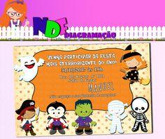 Convite Halloween Digital
