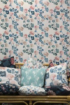 Wallpaper Pelargonia by Rågfälts.