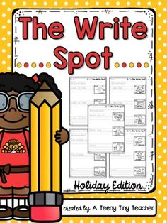 This beginner's writing pack was created so that you can easily differentiate for your learners. Students will be able to use the labeled picture clues to guide them in their writing, ensuring that all types of writers will be successful. This pack is included in a money saving Bundle! Save 20% ...
