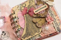 Beautiful appointment book Craft-e-Corner Blog * Celebrate Your Creativity: Mini Appointment Book - A Personal Story