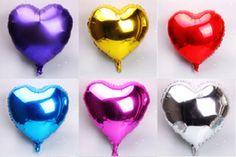 Balão Coração 12cm (sem pega balão)