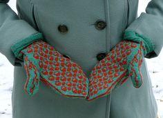 squirrel sampler mittens backsides by yarnbee, via Flickr
