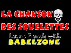 La chanson des squelettes - Babelzone French songs for kids French Teaching Resources, Teaching Activities, Teaching French, Teaching Ideas, Halloween Songs, Halloween Activities, Halloween 2, Holiday Activities, High School French