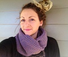 Crochet infinity scarf by RusticValley on Etsy, $45.00