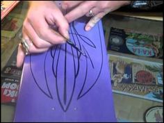 ▶ Pinstriping Basics with DoRr - YouTube