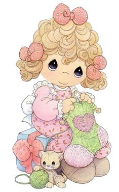 Illustrations and Posters on Share Sunday Precious Moments Quotes, Precious Moments Coloring Pages, Precious Moments Figurines, Cute Images, Cute Pictures, Holly Hobbie, Tatty Teddy, My Precious, Digi Stamps