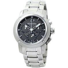 Burberry BU9800 Men's Watch Utilitarian Stainless Steel Bracelet Chronograph  #Burberry #Luxury