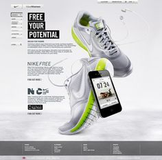 Nike Free + NTC by Emelie Ivansson, via Behance