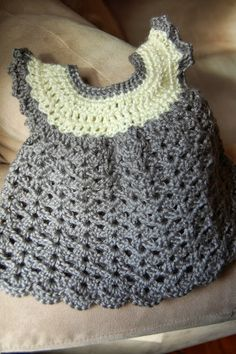 Angel Wings Pinafore - link to free pattern!