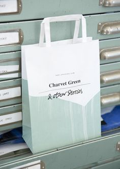 Meet our new paper bags featuring shades of the season.