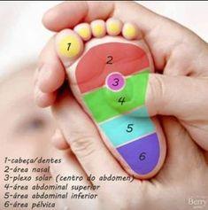 Benefícios da Reflexologia Podal em bebês