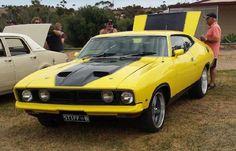 Early 70s Australian Ford Falcon