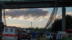 Kripo und Staatsanwaltschaft ermitteln: Brückeneinsturz bei Schraudenbach stellt Experten vor ein Rätsel