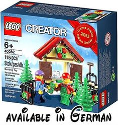 [Super Rare] [Limited Edition] LEGO 40082 2013 Limited Edition Holiday Set (Japan-Import). ACHTUNG: SAMMLERSTÜCK! #Toy #TOYS_AND_GAMES