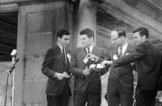 Draft-card burning in Union Square, New York, November 1965