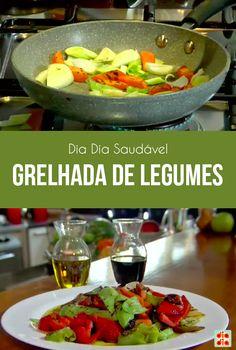 A chef Tatiana Cardoso trouxe mais uma dica saudável para você! Experimente a grelhada de legumes!