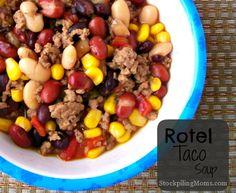 Rotel Taco Soup