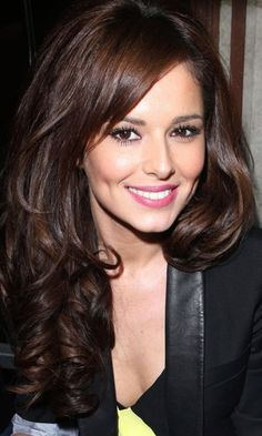 Long Haircut: Cheryl Cole's Big, Glossy Haircut Is One Of Our Faves, 2012 Easy Hairstyles For Long Hair, Fringe Hairstyles, Long Hair Cuts, Pretty Hairstyles, Long Hair Styles, Hairstyle Ideas, Cheryl Cole, Hair Color And Cut, Brown Hair Colors