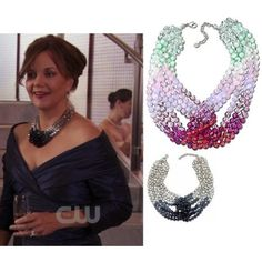I am currently in love with Swarovski's Glamour Necklace I saw on Gossip Girl...