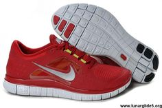 Low Price 510642-009 Gym Red Pure Platinum Reflect Silver Nike Free Run 3 Mens Fashion Shoes Store