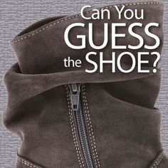 Share with us your best guess at the brand and style of the mystery shoe shown above. #MysteryShoeContest