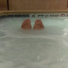 Ain't no hole in the hot tub. #vacation