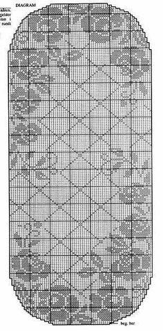 Одноклассники Crochet Table Runner Pattern, Free Crochet Doily Patterns, Filet Crochet Charts, Crochet Motif, Crochet Designs, Crochet Doilies, Crochet Lace, Crochet Cord, Thread Crochet