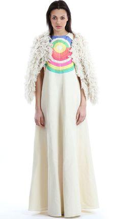 Mara Hoffman Electrolight Stone Gown