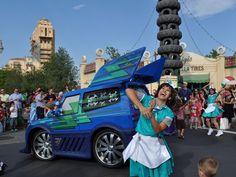 DJ's Dance 'n Drive. Cars Land, Disney California Adventure.
