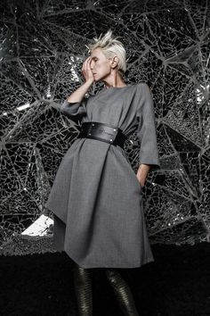 Robert Kalinkin Fashion House - Make a Statement Wrap Dress, Product Launch, Normcore, House Styles, How To Wear, Laundry Basket, Clothes, Shopping, Witch