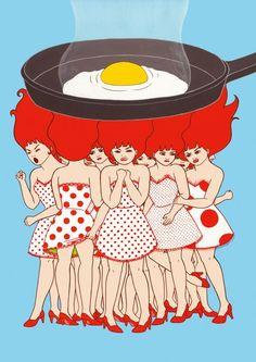 Japanese Illustrator Chika Takei || Crafturday Blog