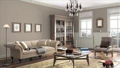 Benjamin Moore Shenandoah Taupe AC-36 (walls) and Smoke & Mirrors CSP-105 (trim)     http://ds.benjaminmoore.com/personal-color-viewer/en-us/photos/bedroom