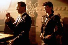 Blade Runner Joe Turkel as Eldon Tyrell and Sean Young as Rachel in Ridley Scott's 1982 Blade Runner