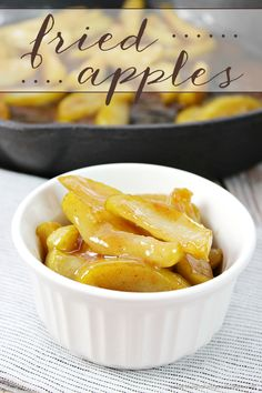 With just a few simple ingredients, you can turn plain apples into a delicious side dish for meat or a dish to serve with breakfast! You can even serve them over ice cream for dessert!  #cboldcountrystore #ad @crackerbarrel