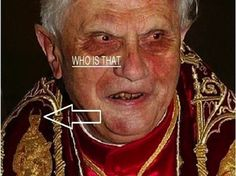 Like the Old Pope wasn't freaky enough. The Pope's clothing | 33 Signs The Illuminati Is Real