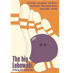 Big Lebowski poster from Etsy